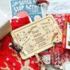 Personalised Christmas Eve Board & Treat Plate - Santa & Rudolph Design