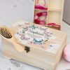 Personalised Bobble, Bow & Clip Box Butterfly