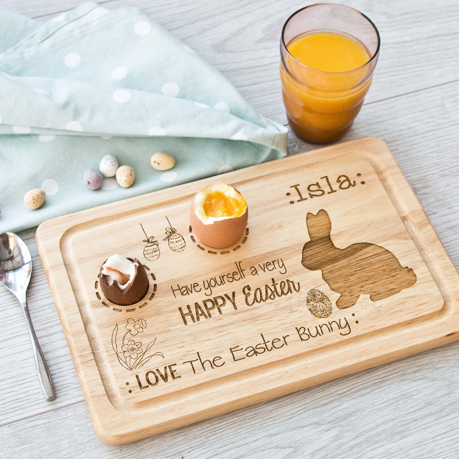 Easter Rectangle Egg Board The Laser Boutique
