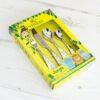 Children Cutlery Set Personalised - Jungle
