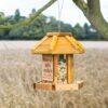 Hanging Bird Seed Feeder Personalised