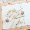 Wooden 12 Piece Play Dough Kit