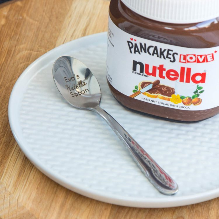 Nutella Spoon For Nutella Lover Nice Funny Personalized Birthday Gift Present