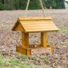 Bird Feeder Wooden Hanging Personalised