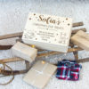 Christmas Eve Box - Christmas Engraved Figures Large Crate - EARLY BIRD OFFER