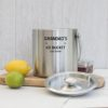 Stainless Steel Insulated Ice Bucket with Lid